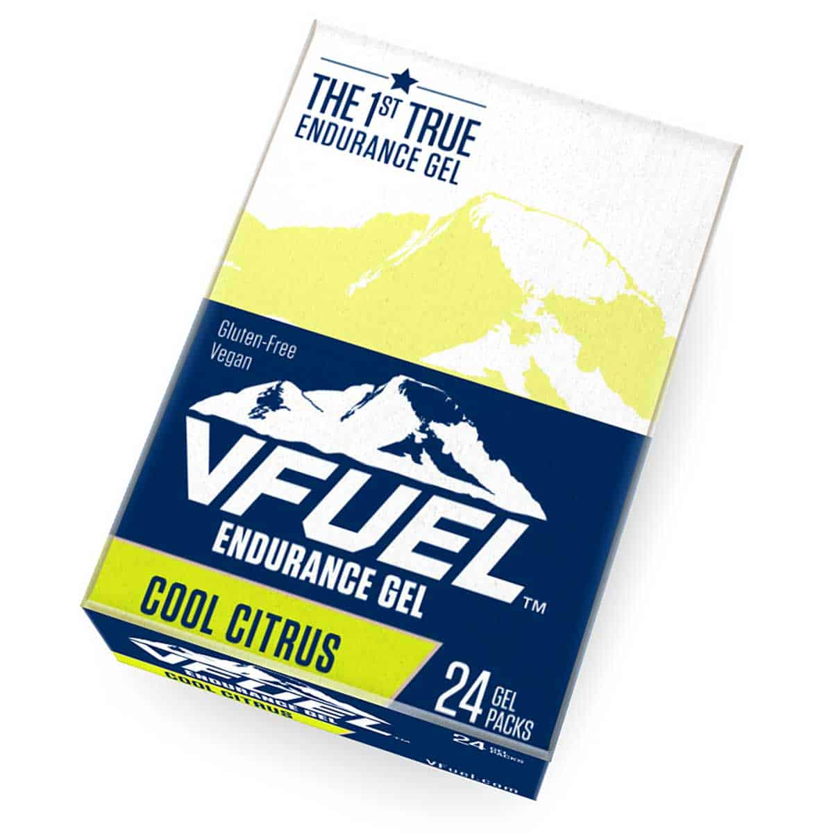 Buy VFuel Australia Endurace Gel 24 Pack - Cool Citrus Flavour
