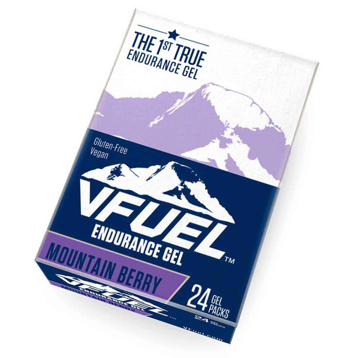 Buy VFuel Australia Endurace Gel 24 Pack - Mountain Bery Flavour