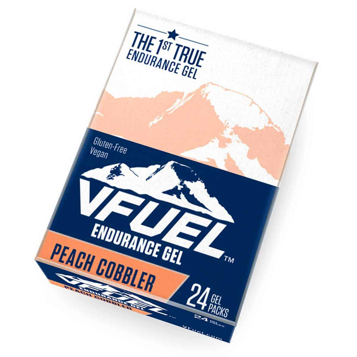Buy VFuel Australia Endurace Energy Gel - Peach Cobbler Flavour - 24 Pack