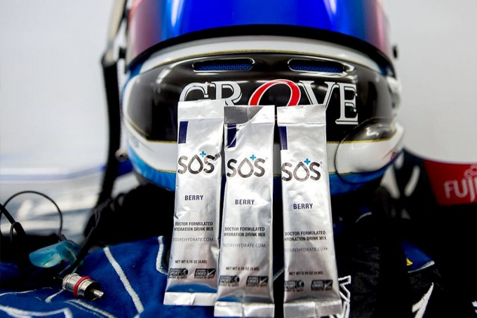 Scott McLaughlin Racing Helmet with SOS Hydration