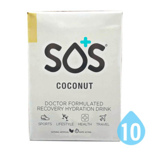 SOS Hydration Coconut 10 Pack Australia